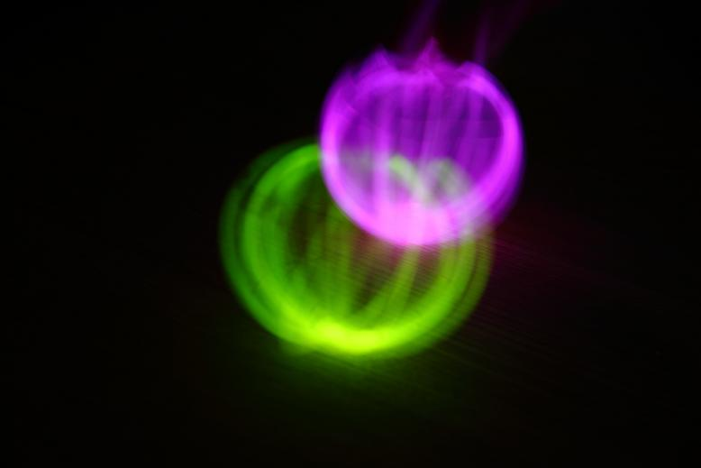 Light Painting Boule 2012
